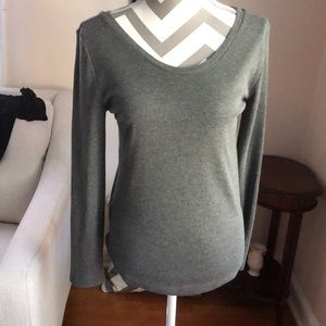 Loft Blouse long Sleeve Grey MP